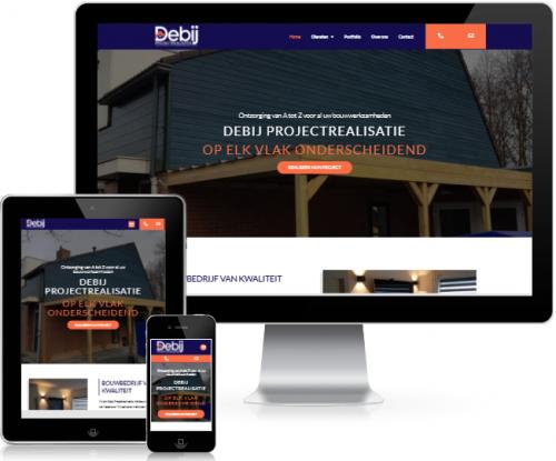 Website Debijprojectrealisatie